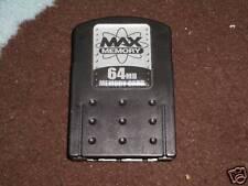 SONY PLAYSTATION 2 PS2 Memory Card 64 MB 64MB-Nero
