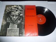 BEETHOVEN - Sonata NO 23 in F Minor Op 57 Appassionata - 1963 Sidelio Vinyl LP