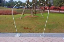 1X Large Heart Wedding Garden Arch Single Tube
