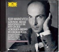 Gounod: Tuning Solemn Di Santa Cecilia/Markevitch, Seefried, Stolze, Uhde - CD