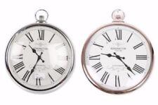 Horloges murales métalliques rondes pour la cuisine