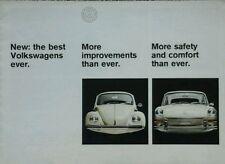 Volkswagen All models range Brochure - August 1967 inc.Beetle