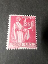 FRANCE 1937, timbre 370, type PAIX, neuf*, VF MH STAMP