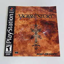 VAGRANT STORY (SONY PLAYSTATION 1) FRENCH BOOKLET ONLY (NO GAME) (S1500)