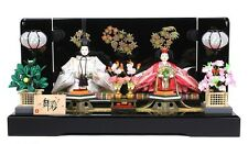 Japanese High Grade Hina Doll Set Kimono Figure New F/S #8390