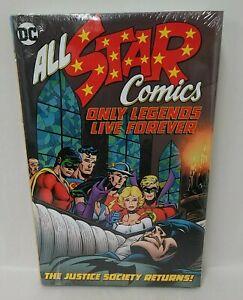 All Star Comics Hardcover Only Legends Live Forever JSA DC HC Batman
