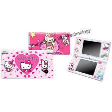 J557 Vinyl Heart HELLO KITTY Decal skin cover case for Nintendo DSI NDSI sticker