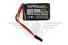 Nuprol 11.1 1300mAh Lipo PEQ15 Micro Battery Airsoft AEG - TM, JG, CA, VFC,