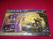 Megabloks Halo UNSC Rockethog vs Anti Aircraft Gun. Brand New Open Box.