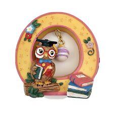 "Mary Engelbreit Collectible Alphabet Letter ""O"" Owl Ornament Decor"