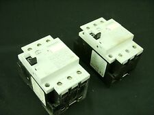 SIEMENS 3VU1340-0ME00 Circuit Breaker 0.4-0.6A LOT of 2