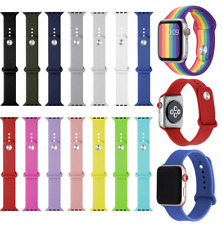 Silicona Correa para Apple Iwatch 38/42mm 40/44mm Serie 1 2 3 4 5 6 Se