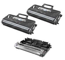 TN-360 DR-360 3pk Set Black Toner Cartridge & Drum Unit for Brother DCP-7040