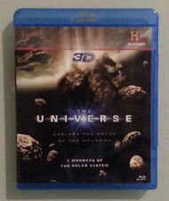 history channel THE UNIVERSE 3D 7 wonders of the solar system  BLU RAY