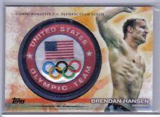 Brendan Hansen 2012 Topps U.S. Olympic Team & Hopefuls Team Patch #ULP-BH