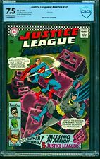 Justice League Of America #52 CBCS VF- 7.5 Off White to White DC Comics