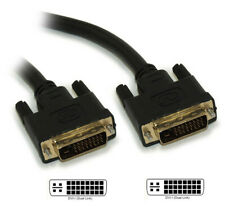 15ft DVI-I Dual Link DIGITAL/ANALOG (28 AWG) Male to Male Gold Plated Cabl
