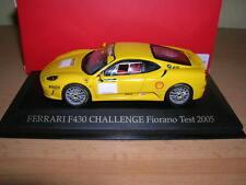 Ixo Ferrari F430 / F 430 Challenge Fiorano Test 2005 gelb yellow  1:43 FER019