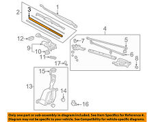 HONDA OEM Wiper Washer-Windshield-Blade Insert 76622SR3305