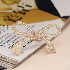 Design Decorative Rings Big Bow-knot Design Ring Rhinestone Rings Finger Ring