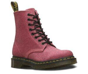 Dr Martens 1460 Pascal Pink Glitter Boots