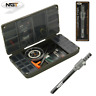 NGT XPR Carp Fishing Tackle Box System For Terminal Tackle + NGT Hook Tyer Tool