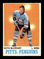 1970 O-Pee-Chee #93 Keith McCreary  EXMT/EXMT+ X1506409