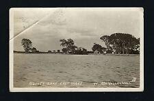 Missouri Valley Iowa Ia 1910 Rppc Noble's Lake Cabin Dpo Post Mark California Ia