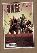 Siege #1   Robinson 1:25  Variant Marvel Comics 2015 NM/NM+