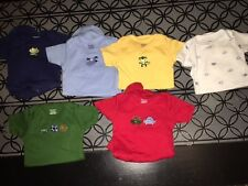 0 3 m Gerber outfit one piece LOT of 6 pcs outfits EUC short sleeve