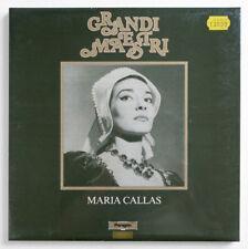SEALED MARIA CALLAS Puccini Bellini Verdi live italy paragon 3 LP Box MINT NEW