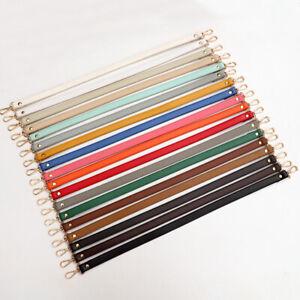 60cm PU Leather Shoulder Bag Short Handle Purse Strap Handbags Belt Replacement