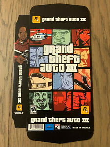 Sony Playstation 2 Promo - GRAND THEFT AUTO 3 III - PS2 Promotional Display Box
