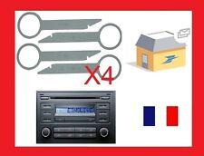 4 Clés clef extraction autoradio démontage VW autoradio POLO de 2006 et autres
