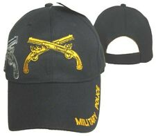 Military Police Guns Rifles Black Shadow Embroidered Baseball Cap Hat (Licensed)