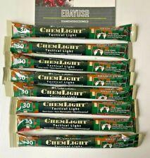 Lot 8 Cyalume Chemlight Light Sticks Red 30 Minute Prepper Survival EXP 01/23