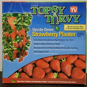 Topsy Turvy Strawberry Hanging Planter Upside Down ~ Easiest Way to Grow