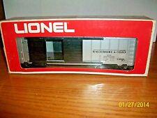 Lionel Baltimore & Ohio silver Autocar #6-9701 O scale new in Box