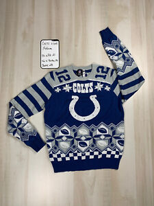 Andrew Luck (Indianapolis Colts) NFL Ugly Player Sweater Medium
