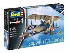 REVELL 1/48 PLASTIC MODEL KIT SOPWITH F.1 CAMEL RE03906