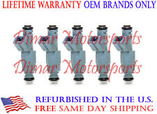 *BEST UPGRADE* Genuine Bosch Flow Matched Fuel Injector Set 4-Hole Spray