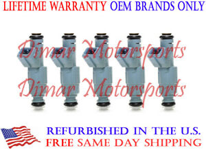 *BEST UPGRADE* Genuine Bosch Flow Matched Fuel Injector Set 4-Hole Spray