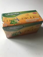 Moroccan Mint Tea With Cardamom 2 Box 40Tea Bags - Free UK Post