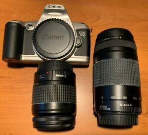 CANON EOS 500 N + EF 28-80 3.5/5.6 II + 75-300 4.5/5.6 III neuf