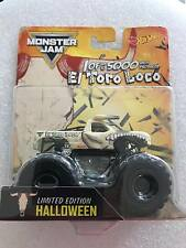 2017 Hot Wheels Monster Jam Halloween El Toro Loco