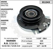 FRIZIONE COMPLETA ELETTROMAGNETICA ARIENS-WARNER-SNAPPER-WOODS 5218-26, 011343