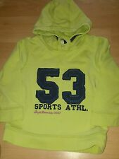 George boy's hooded top aged 2 - 3 year's lime