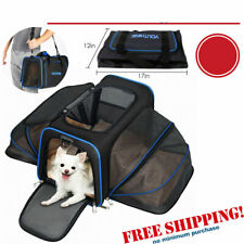 Pet Carrier Soft Sided Puppy Kitten Cat Dog Tote Bag Travel Portable