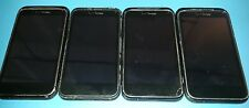 Lot of 4 HTC Droid Incredible 2 ADR6350 Black (Verizon) For Parts Not Working