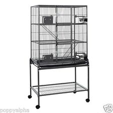 Little Friends Triple Metal Rat Chinchilla Ferret Cage on Stand